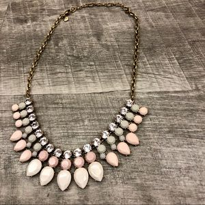 J. Crew Crystal Rhinestone Necklace